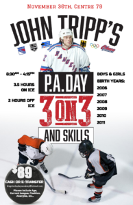 John Tripp's P.A. Day 3 on 3 and Skills